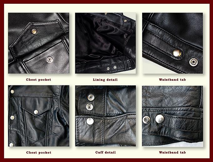Western jacket details
