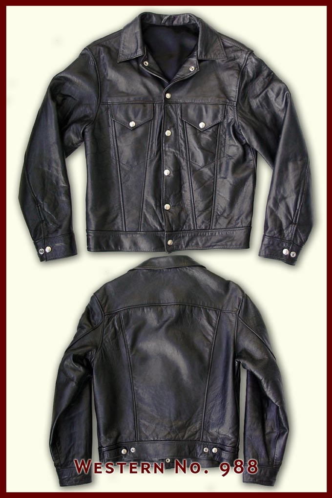 Vintage Western jacket, Lewis Leathers