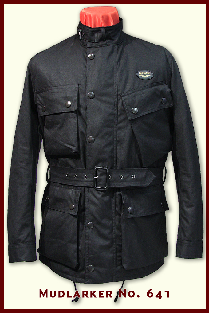 Aviakit waxed jacket