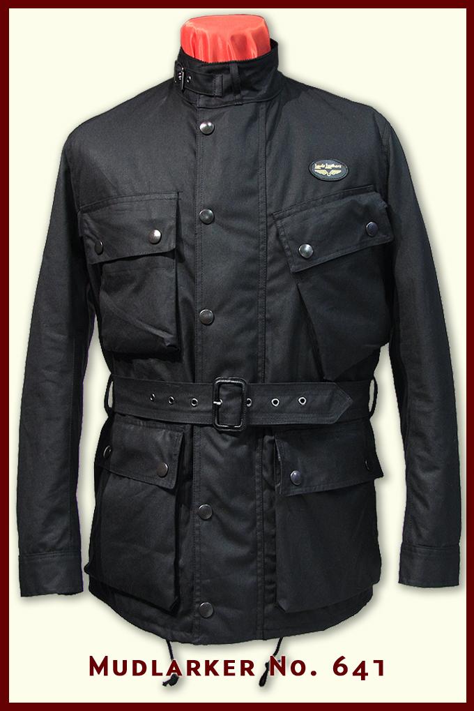Aviakit waxed jacket