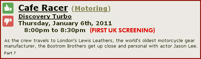 Lewis Leathers - Motor Cycle Scooter and Motor Clothing - LEWIS