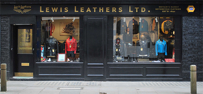 Lewis Leathers Shop