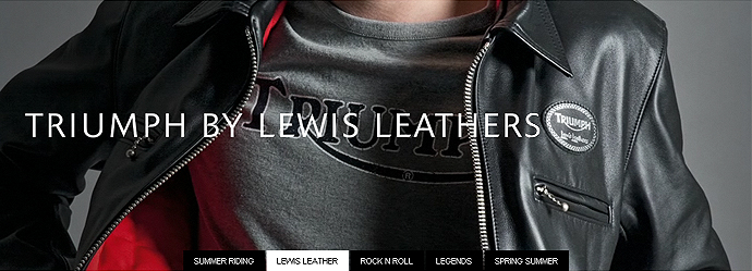 Lewis Leathers, Triumph Banner