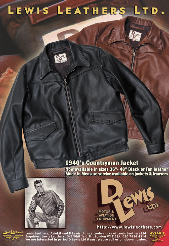 D Lewis Ltd Countryman and Lumber jackets advert