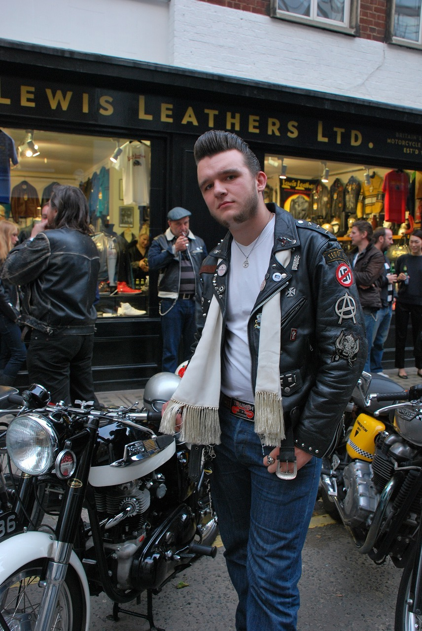Lewis Leathers Motor Cycle Scooter And Motor Clothing